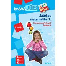 MINILÜK - JÁTÉKOS MATEMATIKA 1. - KOMPETENCIAFEJLESZTŐ FELADATOK
