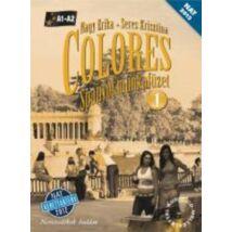 COLORES - SPANYOL MUNKAFÜZET 1. A1-A2 + CD