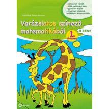 VARÁZSLATOS SZÍNEZŐ MATEMATIKÁBÓL 1.ÉVFOLYAN B KÖTET