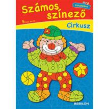 SZÁMOS SZÍNEZŐ - CIRKUSZ