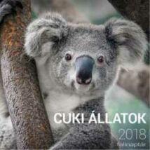 CUKI ÁLLATOK NAPTÁR 2018