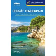HORVÁT TENGERPART TÉRKÉP 2019 (AUTÓTÉRKÉP)