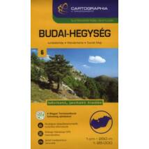 BUDAI-HEGYSÉG TURISTATÉRKÉP 1:25 000 SC