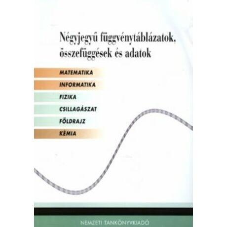 NÉGYJEGYŰ FÜGGVÉNYTÁBLÁZATOK, (FEHÉR) NT-16129/NAT