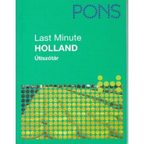 PONS - LAST MINUTE ÚTISZÓTÁR - HOLLAND