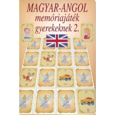 MAGYAR-ANGOL MEMÓRIAJÁTÉK GYEREKEKNEK 2.