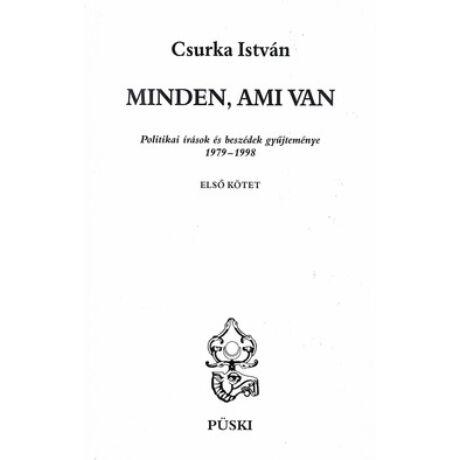 MINDEN, AMI VAN I-III.