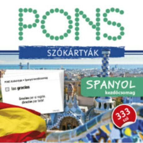 PONS - SZÓKÁRTYÁK - SPANYOL KEZDŐCSOMAG
