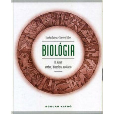 BIOLÓGIA II. - EMBER, BIOSZFÉRA, EVOLÚCIÓ (2015)