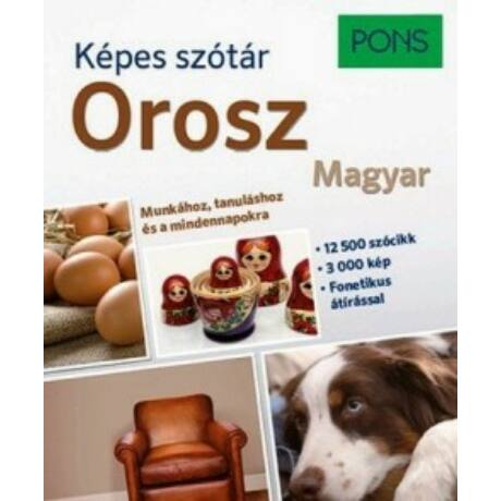 PONS - OROSZ-MAGYAR KÉPES SZÓTÁR