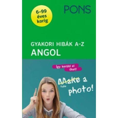 PONS GYAKORI HIBÁK A-Z ANGOL