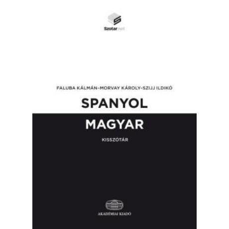SPANYOL-MAGYAR KISSZÓTÁR + ONLINE SZÓ