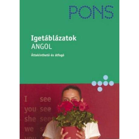 PONS - IGETÁBLÁZATOK - ANGOL