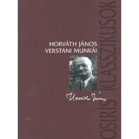HORVÁTH JÁNOS VERSTANI MUNKÁI