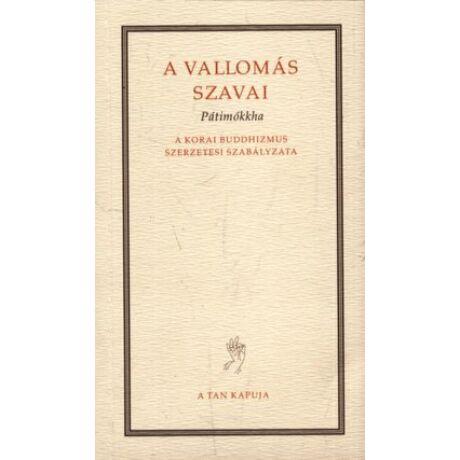 A VALLOMÁS SZAVAI