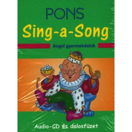 PONS - SING-ASONG ANGOL GYERMEKDALOK CD ÉS DALOSFÜZET